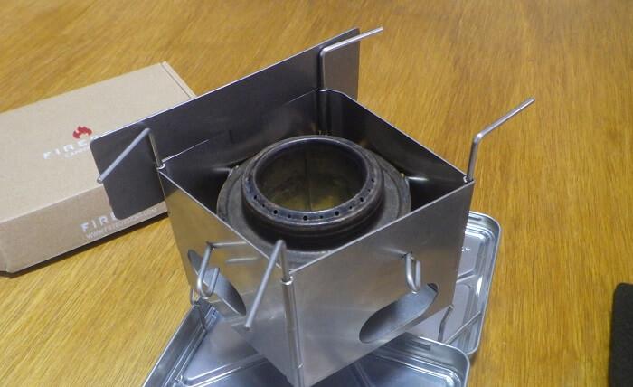 ファイヤーボックス ナノ専用の風防