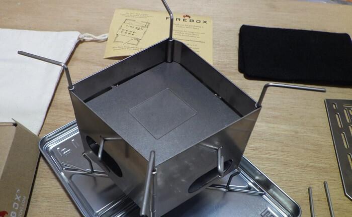 ファイヤーボックス ナノ 固定燃料用プレート