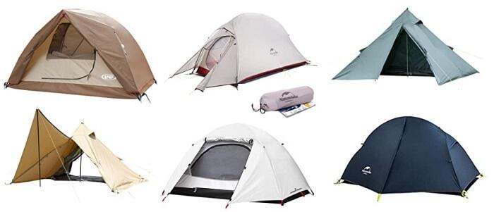 ソロキャンプ用テントの売れ筋