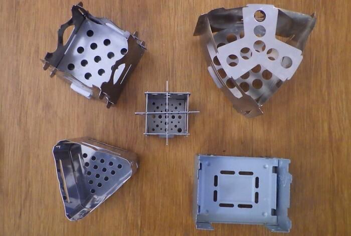 マイクロ ストーブ EDC BOXと各種ミニ焚き火台の比較~その2