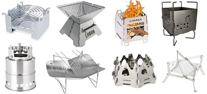 コンパクトなミニ焚き火台の一覧