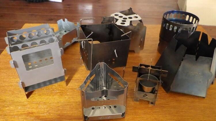 ビーパルのミニ焚き火台と各種ミニ焚き火台