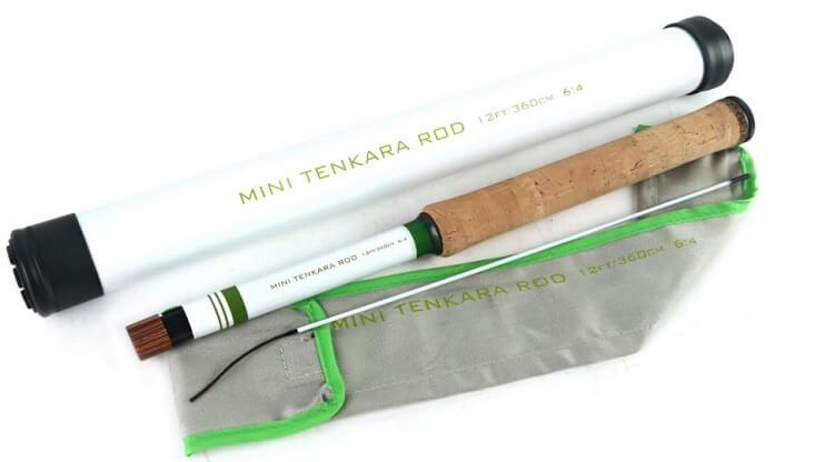 マックスキャッチのミニ テンカラ ロッド