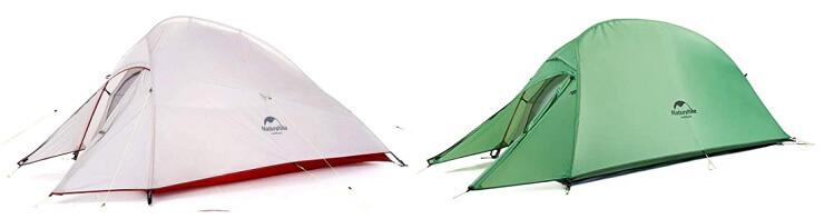 ネイチャーハイクの登山テント クラウドアップ