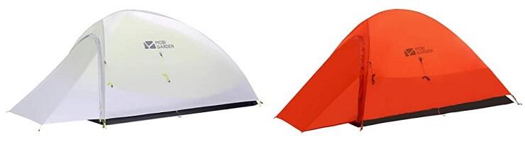 モビガーデンの登山用テント ライトナイト
