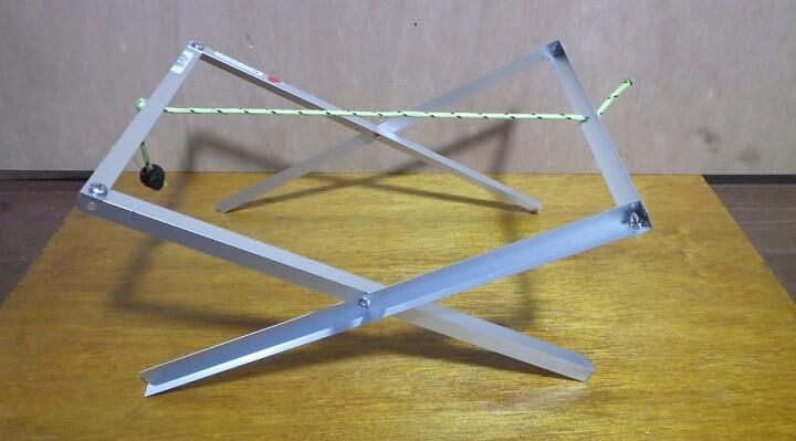 自作焚き火テーブルの作り方~脚の部分