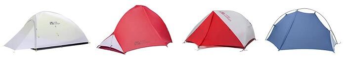 mobi gardenの各種テント