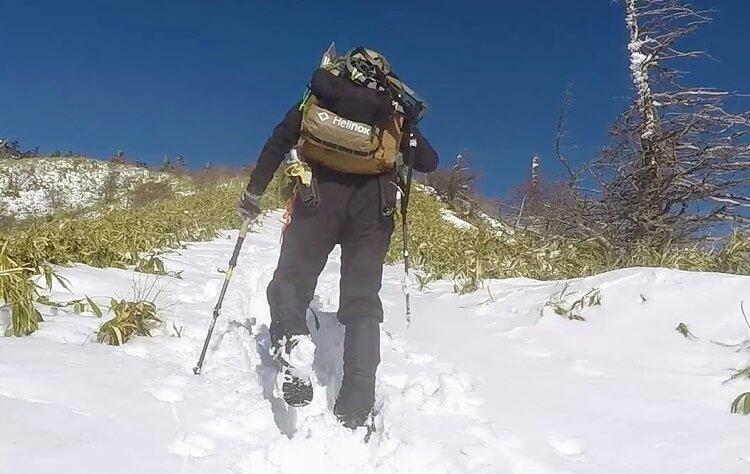 チェアワンミニは登山用のチェアとしても最適