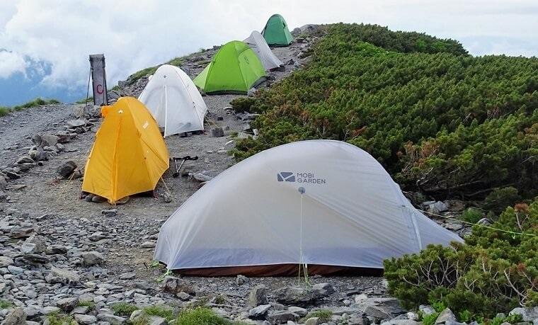 登山用テントの紹介