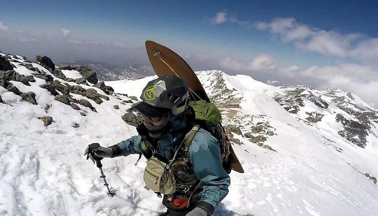 雪山登山の装備